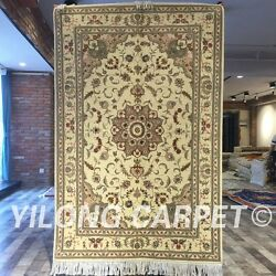 Clearance Yilong 4and039x6and039 Vintage Handmade Wool Rug Blanket Woollen Carpet 2068
