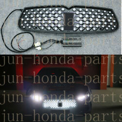 Front Bumper Grille With LED Dynamic Light For Maserati Ghibli 2014-2017