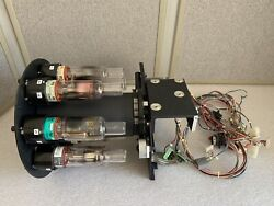 Varian Spectraa 880 Lamp Turret W/ Astrosyn Miniangle Stepper 34pm-c009 And 8 Lamp