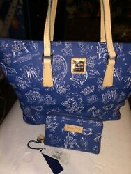 Dooney amp; Bourke Disney Tote With Mactching Wallet NWT Sold out Retired $450.00