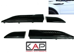 Range Rover Evoque Dynamic Side Vents Air Wing Vents 2011-18 Gloss Black