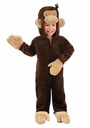 Deluxe Toddler Curious George Costume