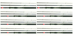 8 Each Band039nand039m Pow-r-troller Pt163 16and039 Trolling Crappie Rod Bnm Bandm