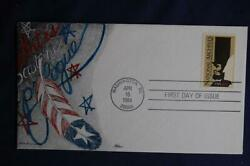 National Archives 20c Stamp Fdc Ham Hp Cachet Sc2081 06033 Abraham Lincoln