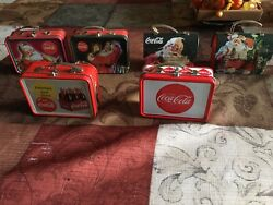 Coca-cola Collectible Vintage Tin Lunch Boxes, Pre-owened From 1990's