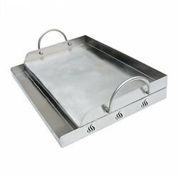 Universal Stainless Steel Rectangular Griddle For Gas Bbq Grills