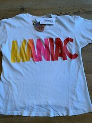 Made Worn Rock Cropped Tee Maniac Size Unisex XS Brand New with Tags