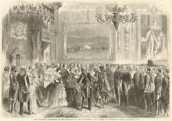 Queen Victoriaand039s Reception Of The Officers Of The Volunteer Rifle Corps 1860