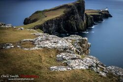 Lighthouse, Isle Of Skye A4 Print Photography Art Wall Print Home Décor Poster