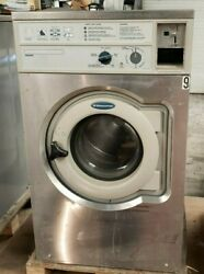 Wascomat Front Load Washer Coin Op 20lb, 208-240v 3ph, S/n 00520/0073880 [ref]