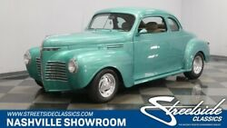 1940 Plymouth Business Coupe -- Restored street rod all steel body fenders and running boards