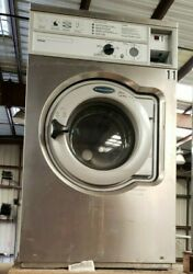 Wascomat Front Load Washer Coin Op 20lb, 208-240v 3ph, S/n 00520/0034201 [ref]