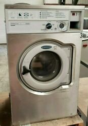 Wascomat Front Load Washer Coin Op 20lb, 208-240v 3ph, S/n 00520/0034284 [ref]