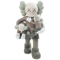 Kaws Cows Medicom Toy Clean Slate Brown Figure Tea Size Free