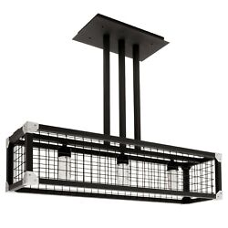 Rv Decorative Wire Cage Ceiling Light Fixture 12v Led Lamp Industrial