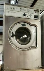 Wascomat Front Load Washer Coin Op 20lb, 208-240v 3ph, S/n 00520/0034287 [ref]
