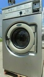 Wascomat Front Load Washer Coin Op 30lb, 208-240v 3ph, S/n 00595/0015728 [ref]