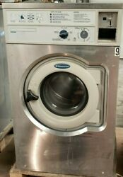 Wascomat Front Load Washer Coin Op 20lb, 208-240v 3ph, S/n 00520/0037928 [ref]
