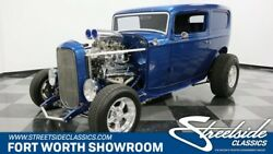 1932 Ford Model A Sedan Delivery classic vintage street rod supercharged 350 v8 auto blower blue