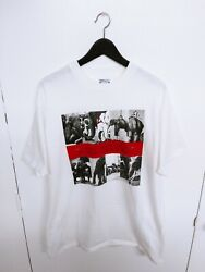 Vtg 1989 10000 MANIACS blind mans zoo concert t-shirt size (XL)