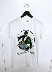 Vintage 1980s 10000 MANIACS Concert T-Shirt Screen Stars Size (L)