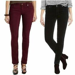 Buffalo David Bitton Women's Faux Velvet Skinny Pant wStretch FREE SHIPPING