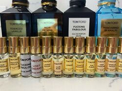 TOM FORD Authentic PRIVATE BLEND Perfumes 3.4ml Factory Sample Atomizers Unisex $20.08