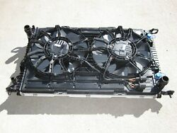 15-18 Porsche Macan Turbo 3.0 3.6 Complete Cooling Radiator A/C Condenser Fan