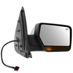 09-10 Expedition Mirror Power Fold Heated W/memory Turn Signal Lamp Right Side