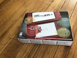Brand New Sealed Nintendo 3ds Xl Red Handheld System Game Console New Wear Box