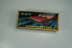 China Mf -207  Convertible -working Boxed  Tin Toy Nice`60tes