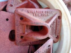 Williams Concrete Form Hardware, Taper Washers, Coil Ties, Lifting Eyes