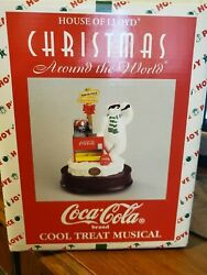 House Of Lloyd 1998 Coca-cola Around The World Cool Treat Musical 630130
