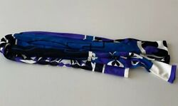 New With Tags Emilio Pucci Print Tie Scarf