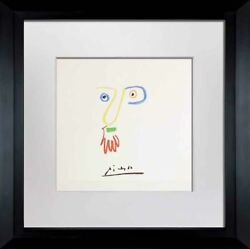 Pablo Picasso Lithograph Don Bob Limited Edition Signed Cat. Ref. C116