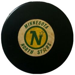 Minnesota North Stars Nhl Official Game Puck Rare Viceroy Mfg Vtg Made In Canada