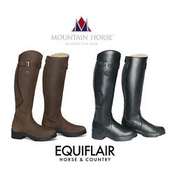 Mountain Horse Snowy River Fur Lined Long Boots - Reg/wide
