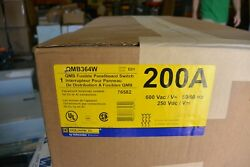 Qmb364w Square D Qmb 200 Amp 600 Volt Fusible Panelboard Switch New In Box