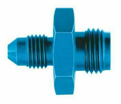 Aeroquip Fitting Adapter Straight 3an Male 1/2-20 Inv Flare M Hardline Fcm2181