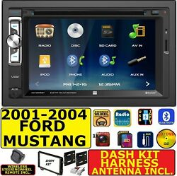 01 02 03 04 Ford Mustang Bluetooth Touchscreen Dvd Video Cd Usb Car Radio Stereo
