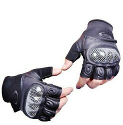 Half Finger Standard Issue Oakley Pilot gloves.New without tag.Wholesale Price $39.91