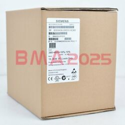New In Box Siemens M430 6se6430-2ad31-5ca0 15kw 1 Year Warranty Fast Delivery