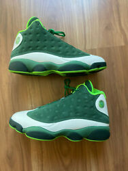 Oregon Ducks Jordan 13 PE Player Exclusive Sample Football Shoes size 11