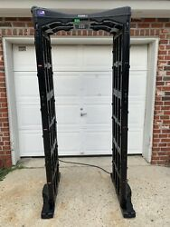 Fisher Research Labs M-Scope Portable Walk Through Metal Detector
