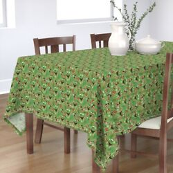 Tablecloth Airedale Terrier Dog Dogs Dog Breed Dog Pet Christmas Cotton Sateen