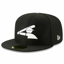 Mens New Era MLB 2019 Batting Practice 59FIFTY Fitted Chicago White Sox