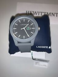 Lacoste Unisex Watch NEW IN BOX Grey