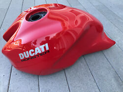 Ducati 797 Monster Gas Tank 2017-19 Used Part . Red . P/n 58612573aa Damaged