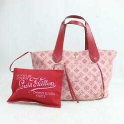 Louis Vuitton Tote Bag Cabas Ipanema GM M95988 Pinks Canvas 816222