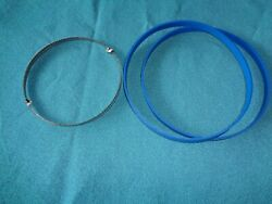Blue Max Urethane Band Saw Tires And 1/4 Band Saw Blade For Shopmaster Bs100